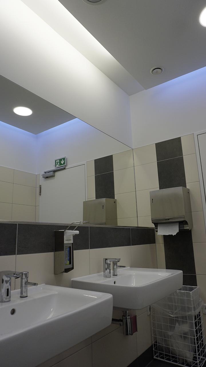 Nachher - WC-Vorraum Herren
