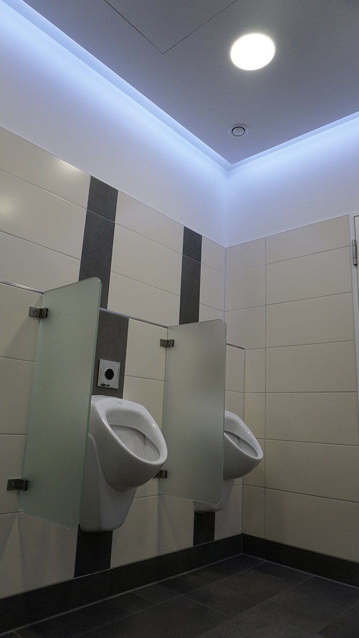 Nachher - WC-Raum Herren