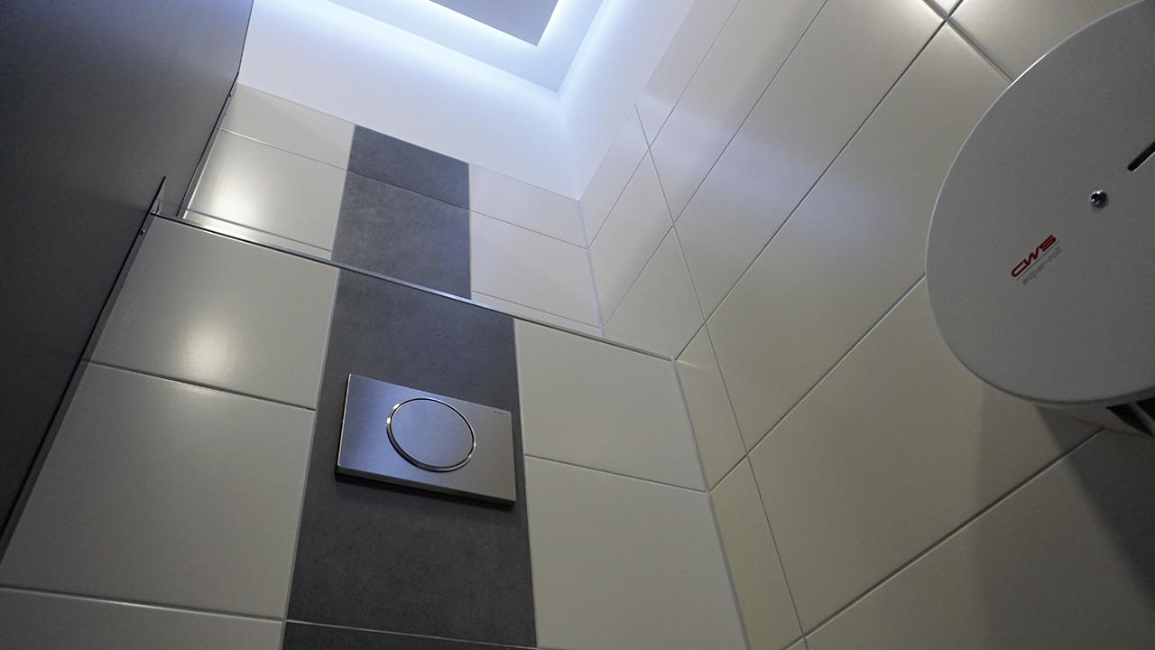 Nachher - WC-Kabine Herren