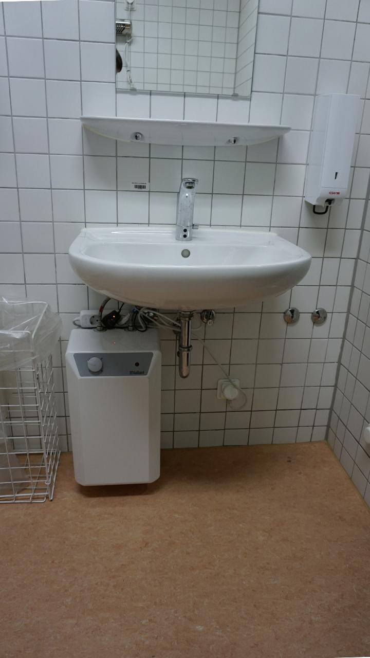 Vorher - Waschtisch